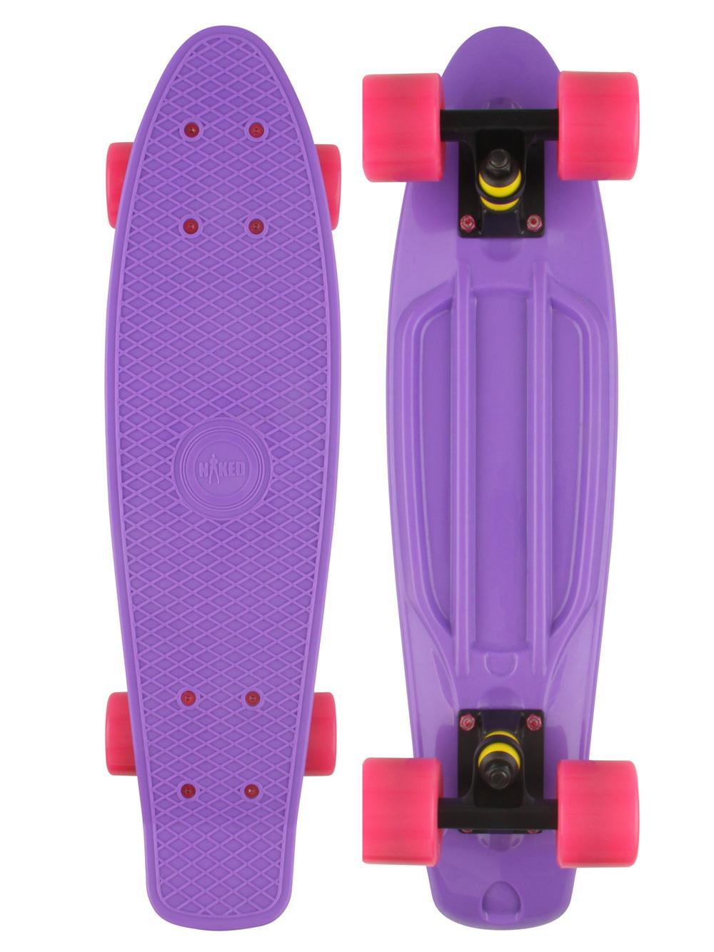 naked original purple deluxe skateboard. Black Bedroom Furniture Sets. Home Design Ideas