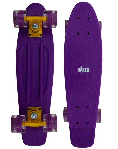 Naked Cruiser Lilac Flash/LED skateboard