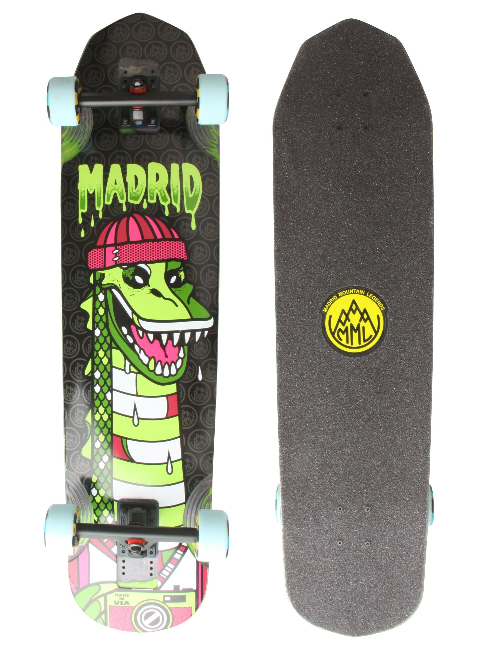 madrid nessie longboard